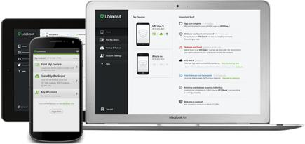 Lookout mobile and web application