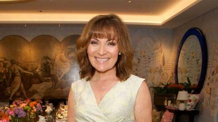 Lorraine Kelly at the launch of her new collection with JD Williams