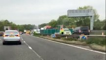 Lorry driver arrested after five killed in M6 crash between Stoke and Stafford