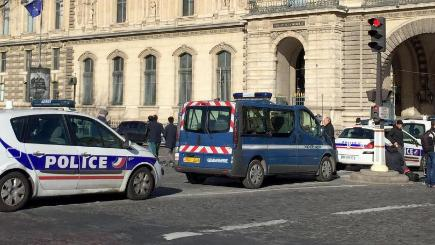 French soldier shoots, wounds machete-wielding attacker at Paris Louvre