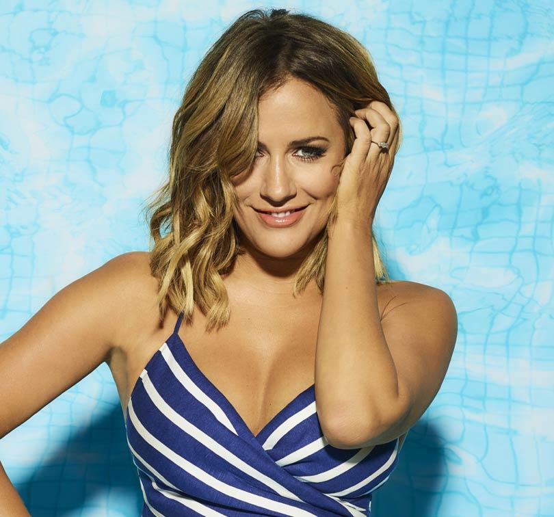 Love Island presenter - Caroline Flack
