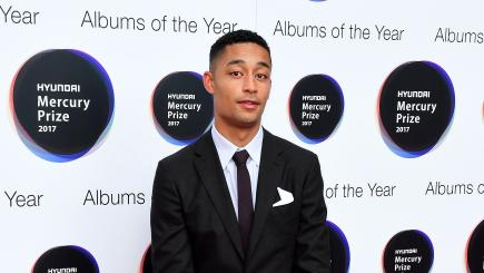Loyle Carner celebrates Brit nominations by taking his mother to the football