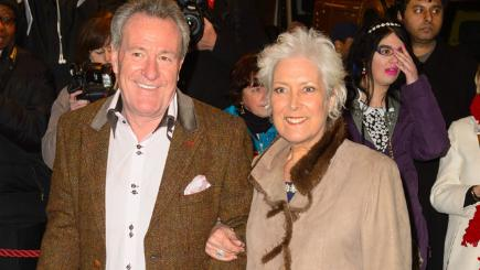 Lynda Bellingham and husband