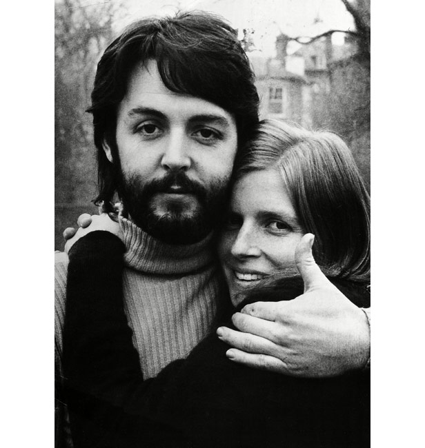 Paul McCartney and wife Linda two days after the interview was published.