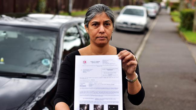 Confusing Lane - Bt Into 'trick' Says Thousands 'cash In Up Motorist Cow' Bus Signs Fines Picking