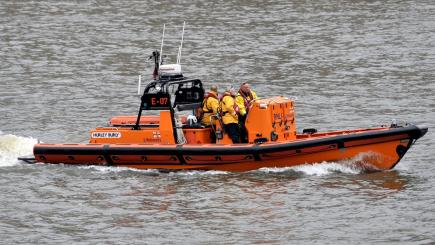 Search expanded for two men missing on speedboat off Scotland