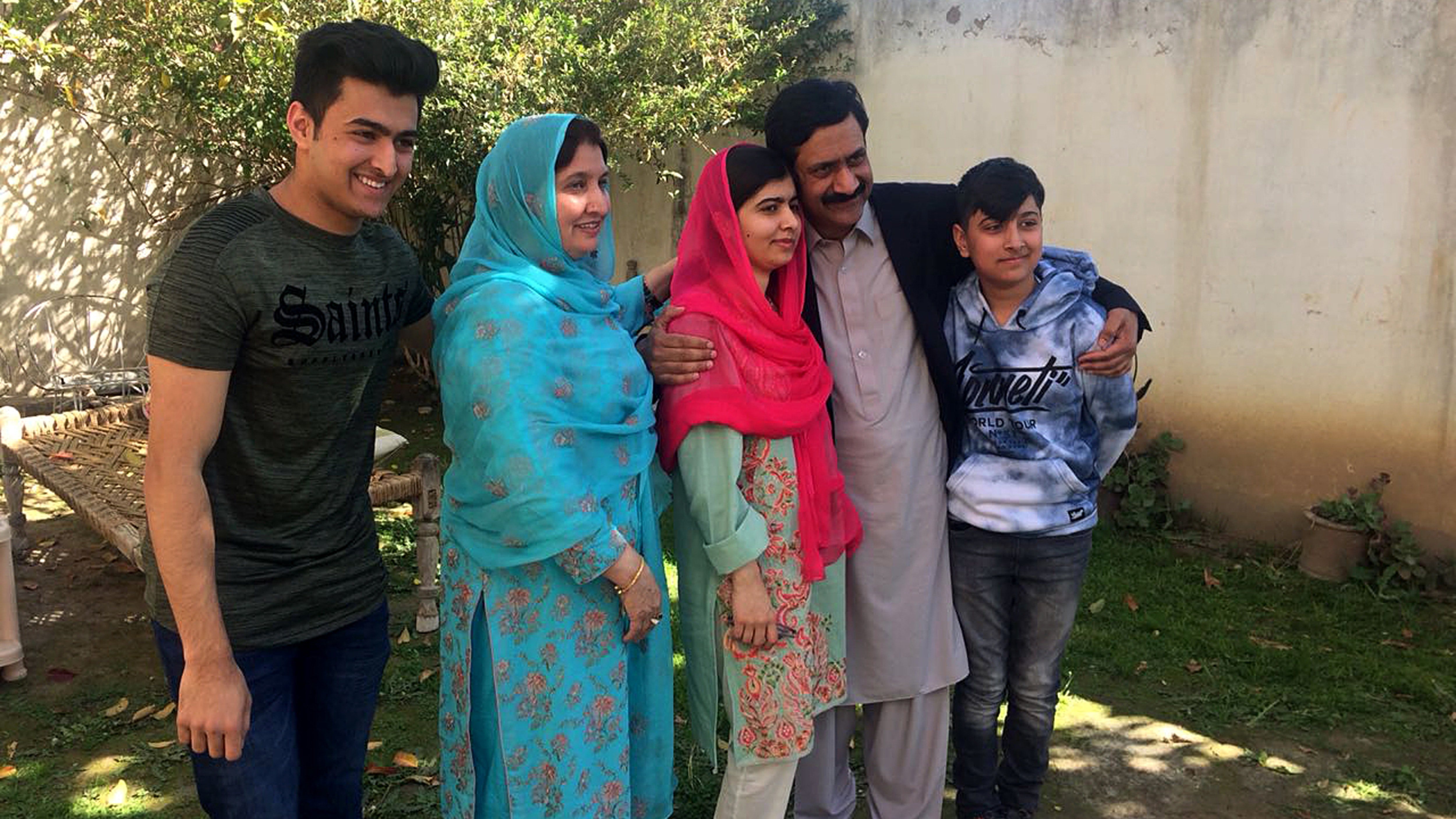 Malala flies back after wrapping up Pakistan visit