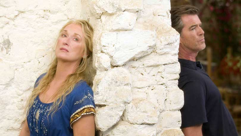 Mamma Mia - Meryl Streep and Pierce Brosnan