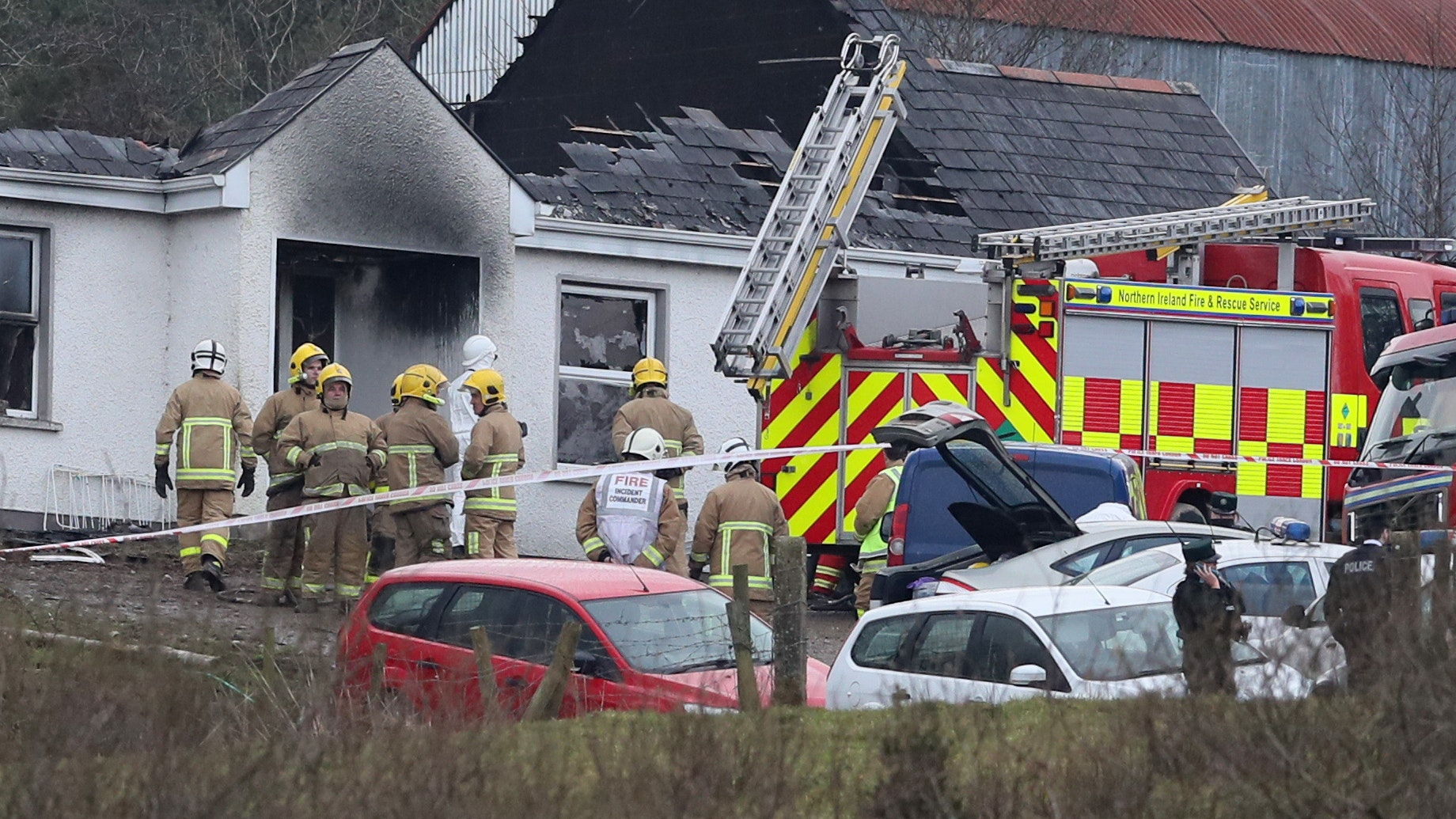 Man charged with four counts of murder following Fermanagh fire