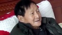Zhang Guolun, 70, had the giant gallstone removed