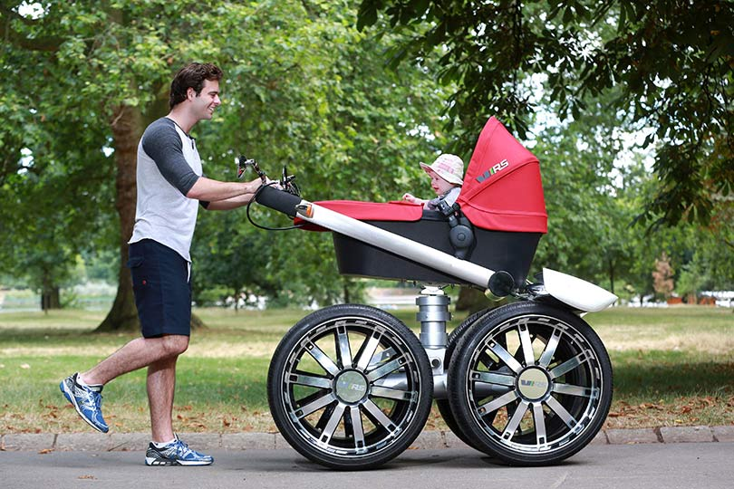 Mega Pram Fit For A King In Pictures