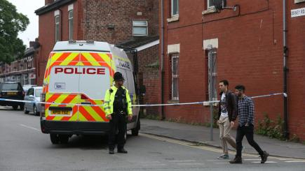 UK police search property in Manchester attack investigation