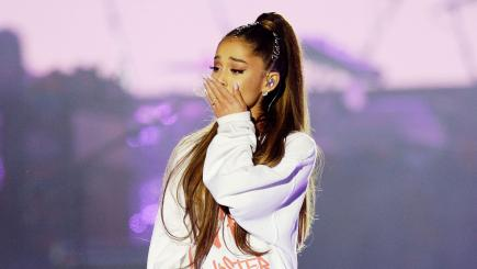 Ariana Grande 'moved' to become first honorary citizen of Manchester