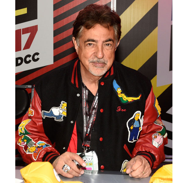Joe Mantegna, who provides the voice of Fat Tony in the Simpsons