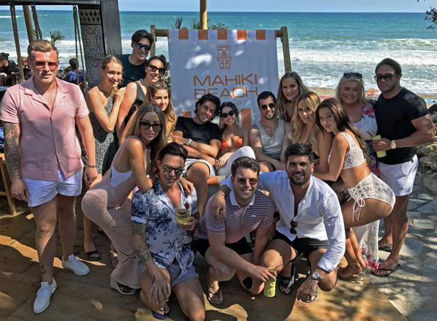 Marbella where to party in the day