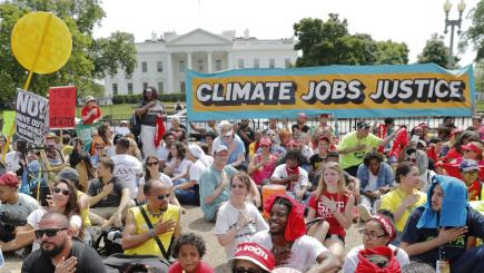 Union contingent to travel to national climate march