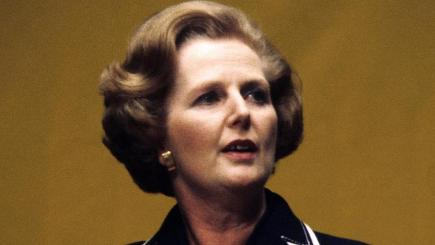 Margaret Thatcher has topped a list of the most influential women in history