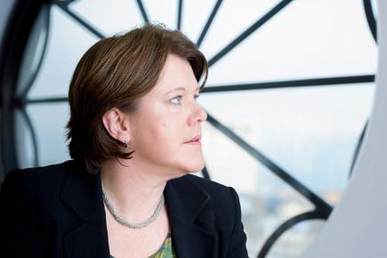 Maria Miller ... not quite caught in the web