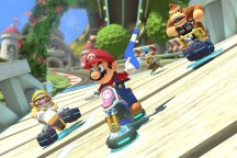 Mario Kart 8 does see boomerings and weird hover bikes, though. So it's probably more a Nietzsche thing.