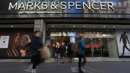 Marks & Spencer clothing arm returns to sales growth of 2.3 per cent