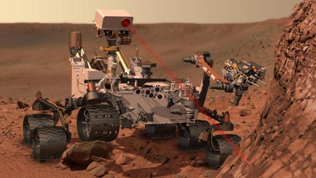 Mars Curiosity Rover - explained - BT