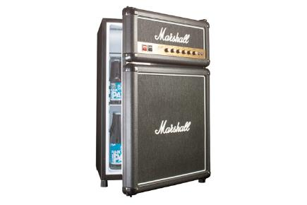 Keep your drinks cool with the fridge that looks like a Marshall amp.