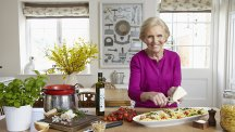 Mary Berry in a still from her book 'Cooks the Perfect'. Photo credit: DK