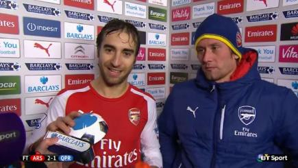 Flamini's short-lived Man of the Match joy