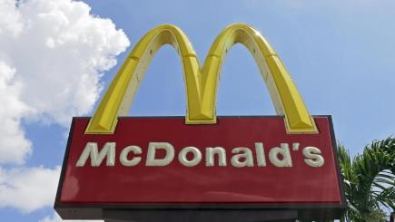 McDonald's said a hacker sent the tweet (Alan Diaz/AP)