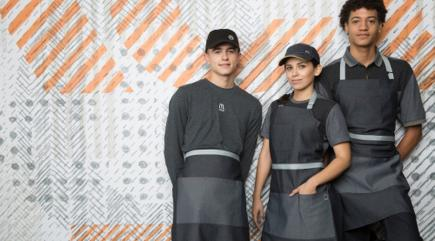 A Depressing Expression of Our Dystopian Future — McDonald's New Uniforms