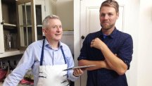 Brian McFadden was shocked at what a bad cook Louis Walsh is