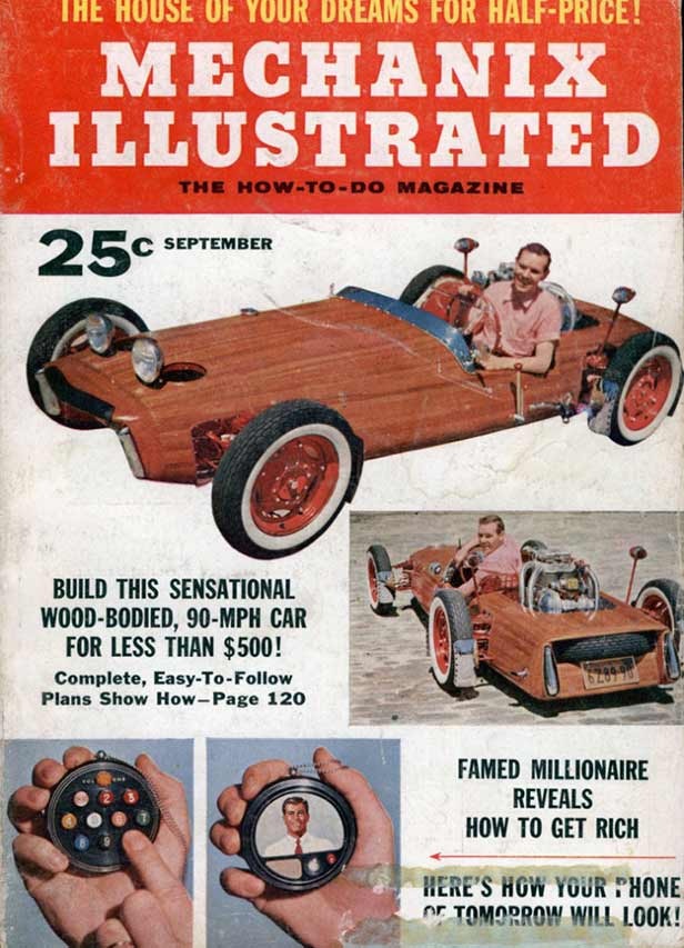 Mechanix Illustrated 1956