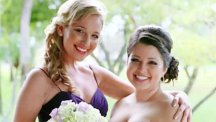 Meet the world's first professional bridesmaid