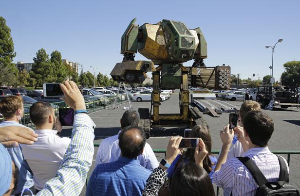 The US challenger - Megabot Mark II
