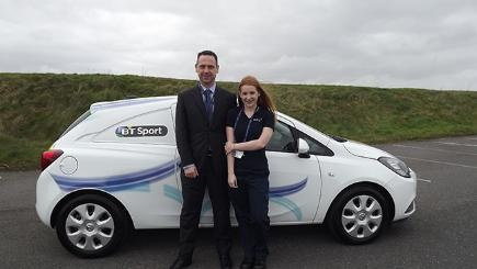 Megan and Matt Rogers both work for Openreach