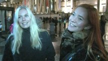 Members of the public burst into song and share their favourite Christmas carols