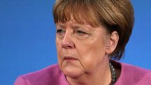 German Chancellor Angela Merkel said the Munich attack was 'difficult to bear'