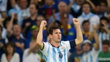 Lionel Messi scored a sensational goal for Argentina