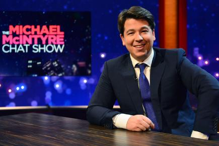 Michael McIntyre hosts a new chat show on BBC One
