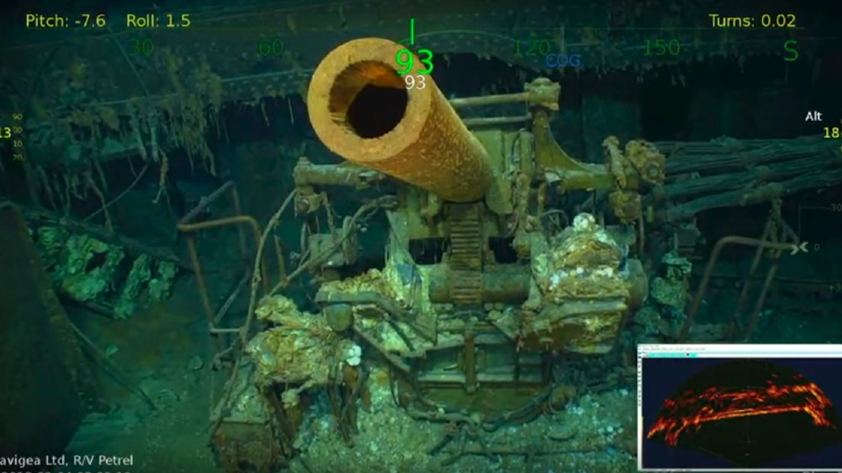 WWII wreckage of aircraft carrier USS Lexington found (photos, video)