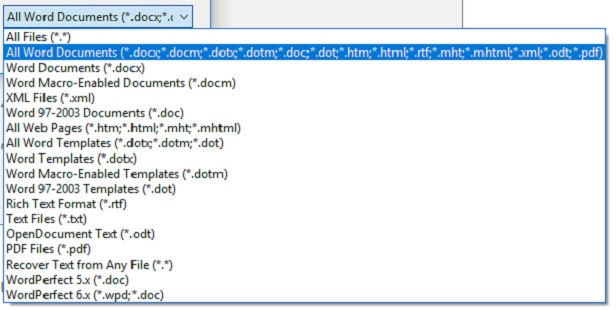 Microsoft extension screenshot