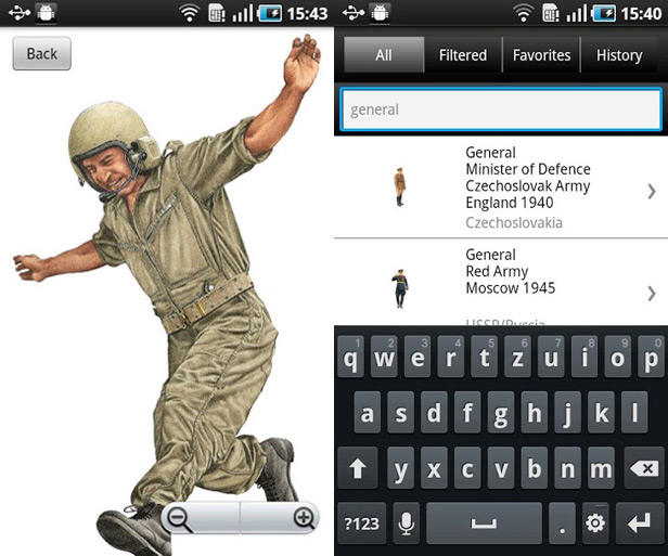20th Century Military Uniforms app