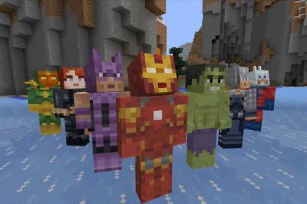 Minecraft becomes Marvel-lous - BT