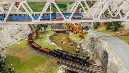 Take a look at the world's largest model railway