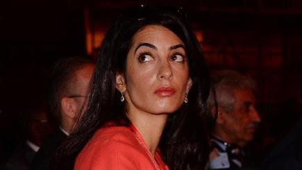 Amal Clooney is married to Hollywood star George Clooney
