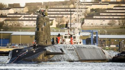 Britain fires dummy nuclear missile at UNITED STATES in epic Trident bungle