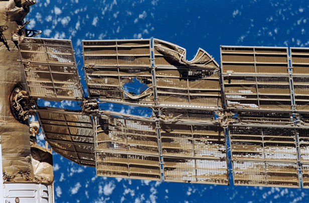 russian mir space station crash - photo #8