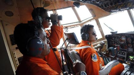 The missing AirAsia A320-200 plane is likely to be at the bottom of the Java sea, an official said