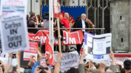 PMQs: May defends Carillion actions after Corbyn criticism