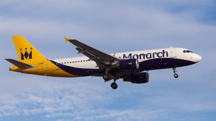 Monarch collapse: your rights to a refund and getting a flight home